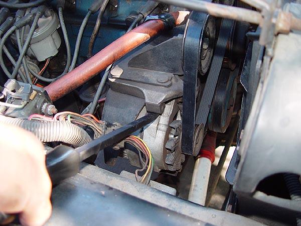 Jeep CJ    258    Serpentine Belt Replacment WriteUp