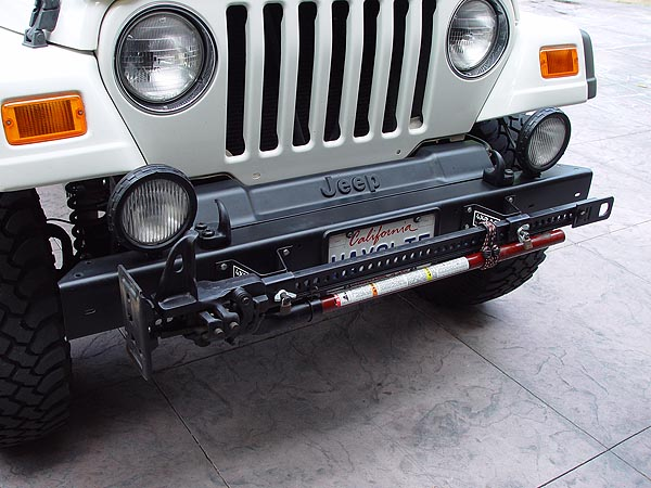 Hi Lift Jack 4xrac Jeep Bumper Mount