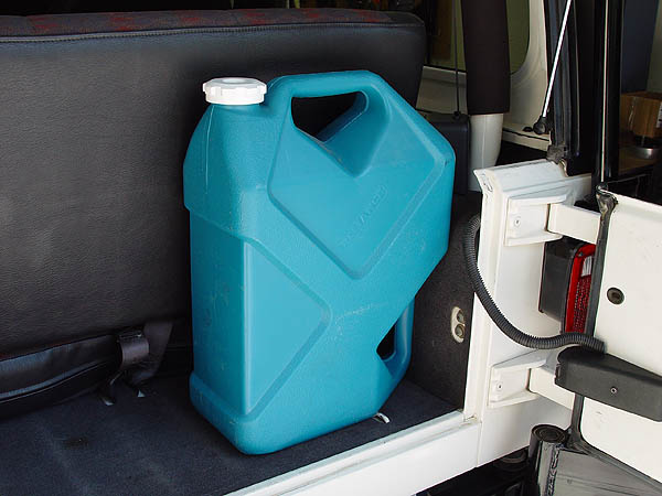 Reliance Jumbo Tainer 7 Gallon Plastic Water Can For Jeeps