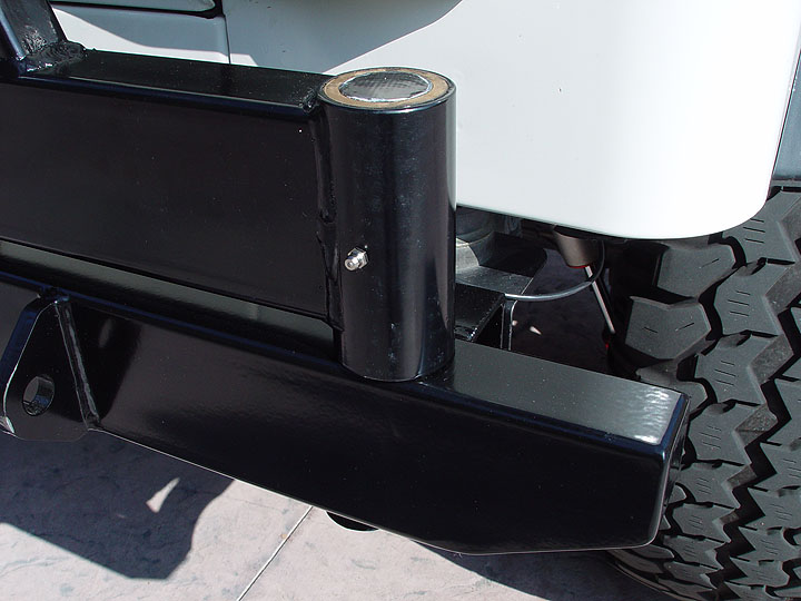 Lod Xpedition Series Jeep Bumper Tire Carrier
