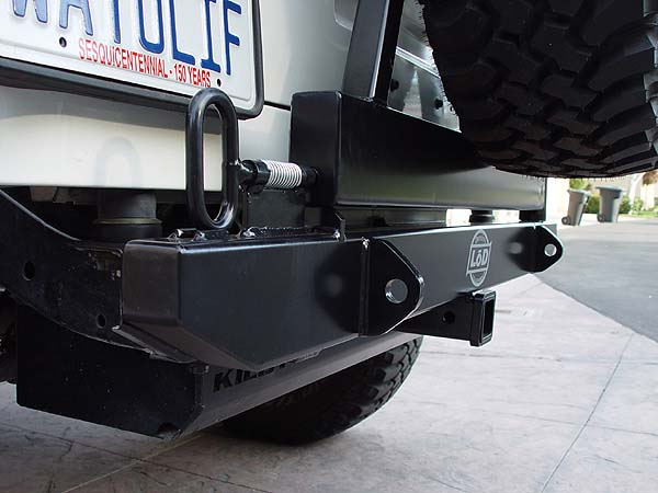 Jeep Lod Bumper Swing Away Tire Carrier For Tj And Yj