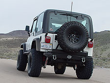 LoD Rear Bumper Tire Carrier Jeep TJ