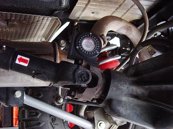 Advance Adapter SYE and CV Drive Shaft TJ Installation