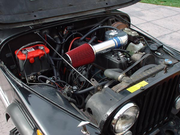 howell throttle body fuel injection tbi installation jeep cj 285 affix your new howell tbi sticker on top of the old vacuum diagram double check all your connections tidy up all your wiring zip ties conduit and or