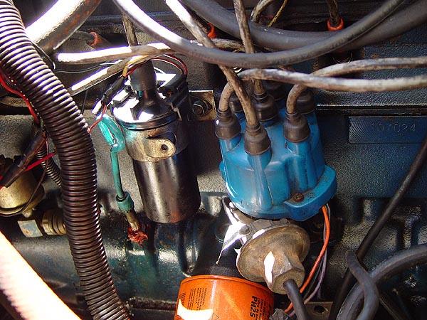 Jeep CJ 258 TFI Ignition Upgrade