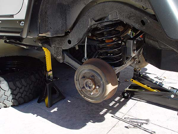 Jeep Tj Air Lift Suspension Installation Write Up