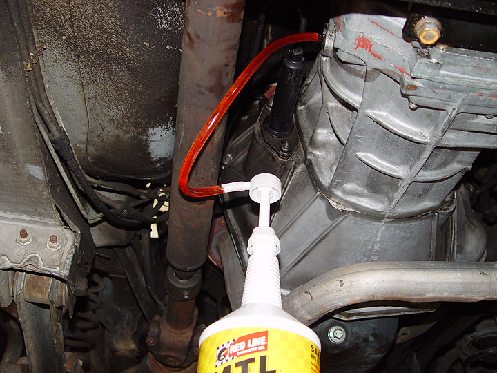 How To Drain Transmission Fluid >> Jeep Tj Transmission And Transfer Case Fluid Change Diy