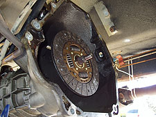 1997 Jeep Clutch Replacment
