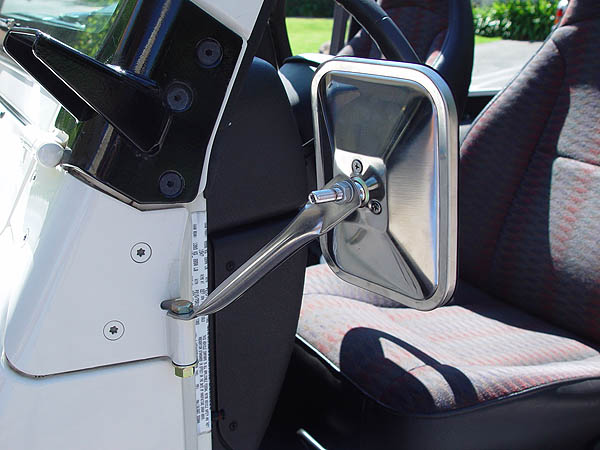 ... who have used one from auto zone and mounted it onto the A frame bolts to lower the window. Pilot Automotive/Euro styled black car mirror (MI-024) ... & Mirrors for doors off. i know not again - Jeep Wrangler Forum