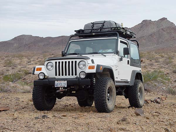 Wrangler 2dr Jeep Tj Swb Roof Rack Project
