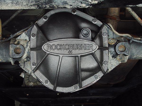 Rockcrusher Dana 44 Differential Cover