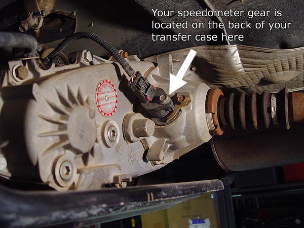 Changing Your Jeep Speedometer Gear
