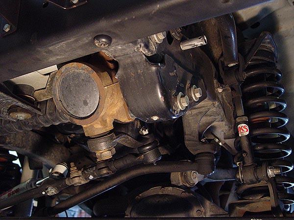Jeep Wrangler Jk Front Bumper >> Warn Jeep Steering Box Skid Plate Installation