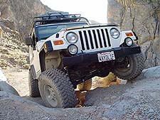 Jeep Wrangler TJ Death Valley