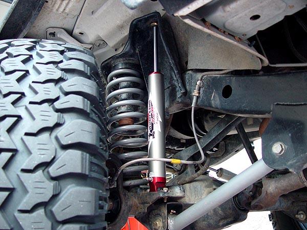 Walker Evans Racing Shocks Jeep Tj