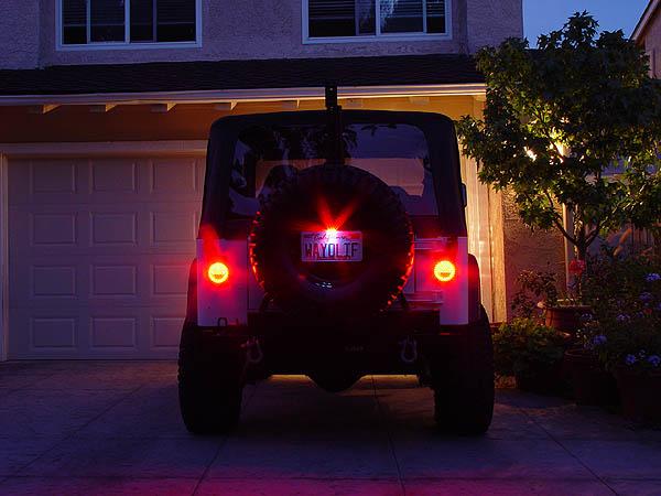 Off Road Only LitePLATE LED License Plate Light 3rd Brake Light – Jeep Wrangler Third Brake Light Wiring