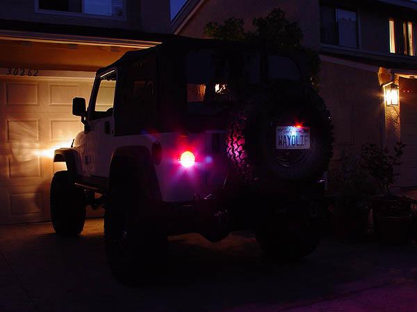Off Road Only LitePLATE LED License Plate Light 3rd Brake Light – Jeep 3rd Brake Light Wiring
