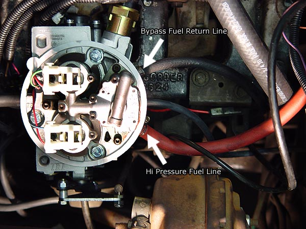 howell tbi throttle body fuel injection installation jeep 5 7 tbi wiring harness