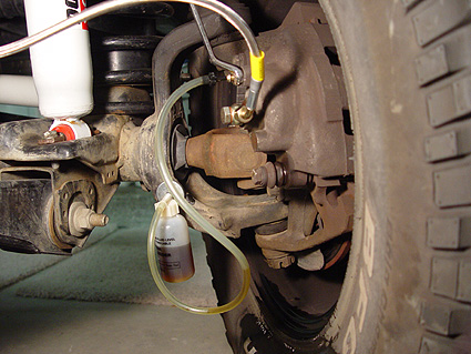 How To Bleed Your Brakes By Yourself >> Bleeding Your Jeep Brakes