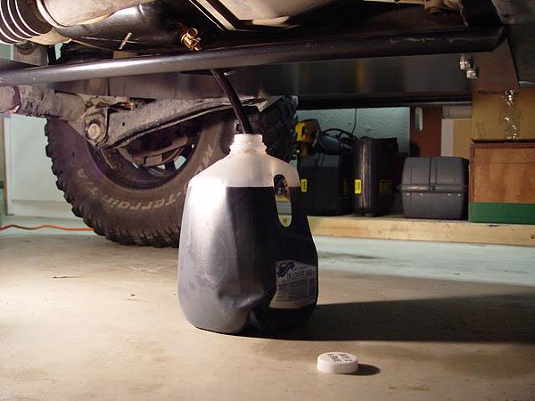 Fumoto Engine Oil Drain Valve Installation Jeep