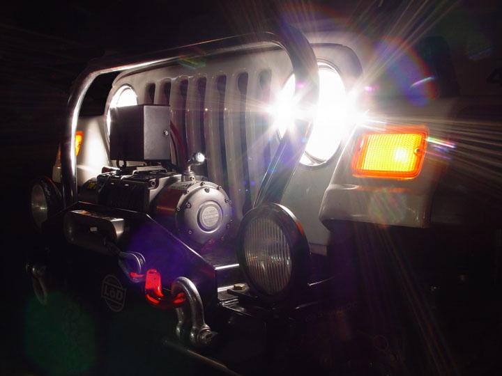 1pcs 5x7inch LED Rectangular Headlight Driving Light for