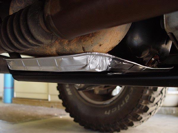 Skid Row Jeep Engine Skid Plate Installation