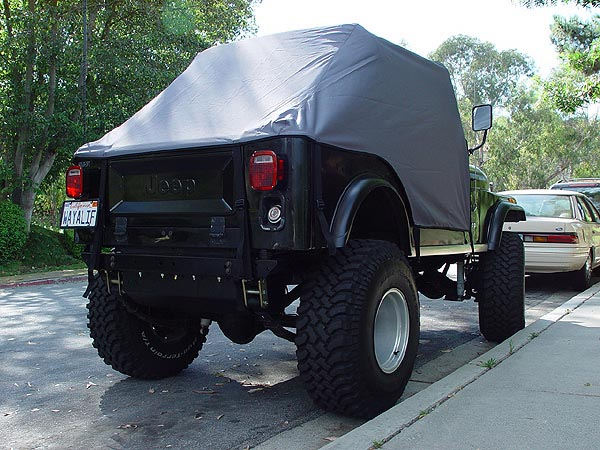Rain Gear Jeep Cj Cab Covers