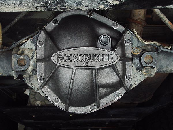 Rockcrusher Dana 44 Differential Cover