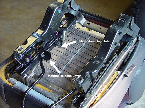 Jeep Wrangler Seat Track Release Cable Repair