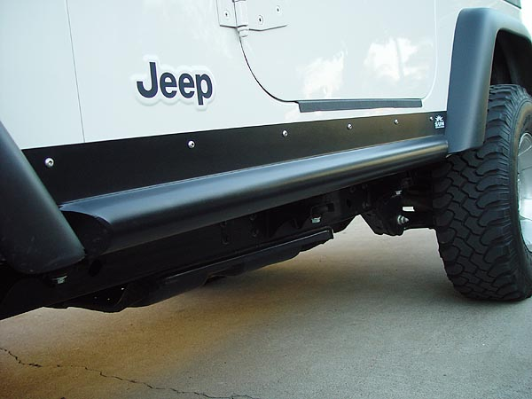 Jeep Sun Performance Rocker Guards