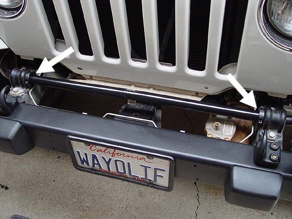 Jeep Swaybar Shifting Over Fix